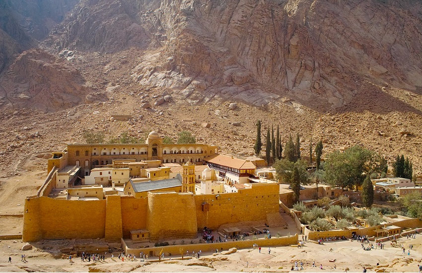 Sharm Catherines Monestary