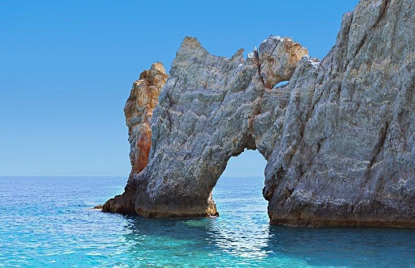 Skiathos Holey Rock