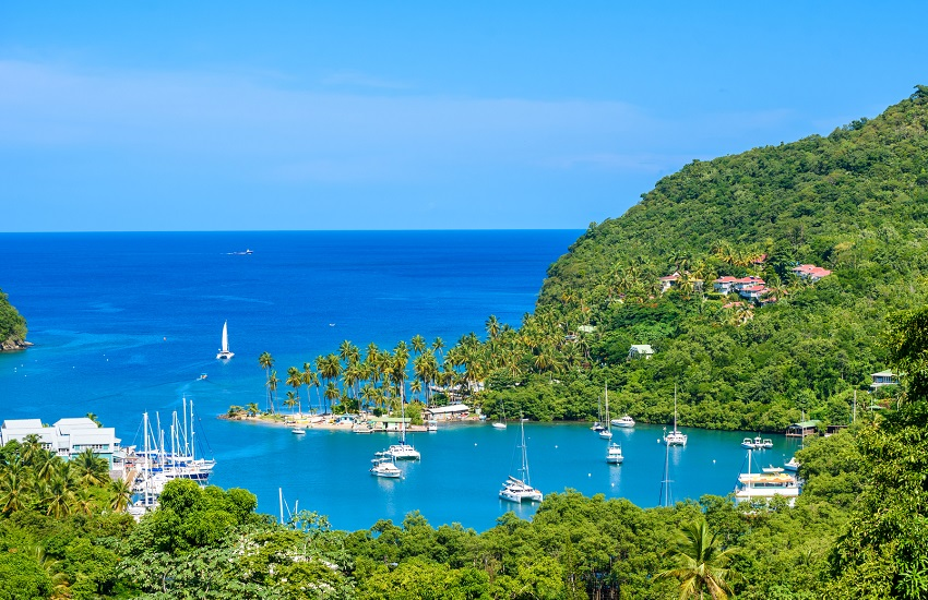 St-Lucia Marigot Bay