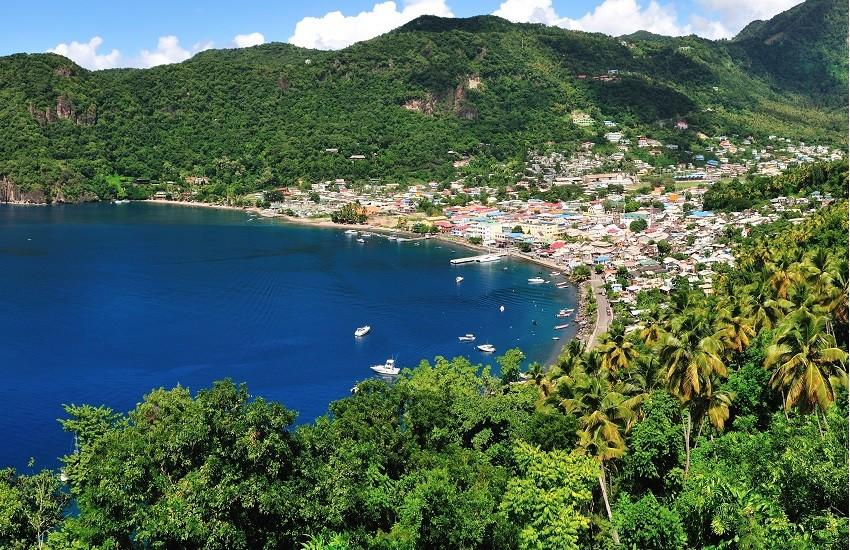 St Lucia Soufriere