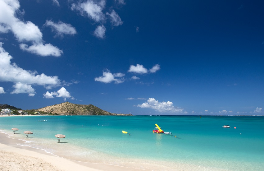 St Martin Grand Case Beach