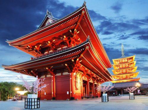 Tokyo Sensoji ji Temple Asakusa