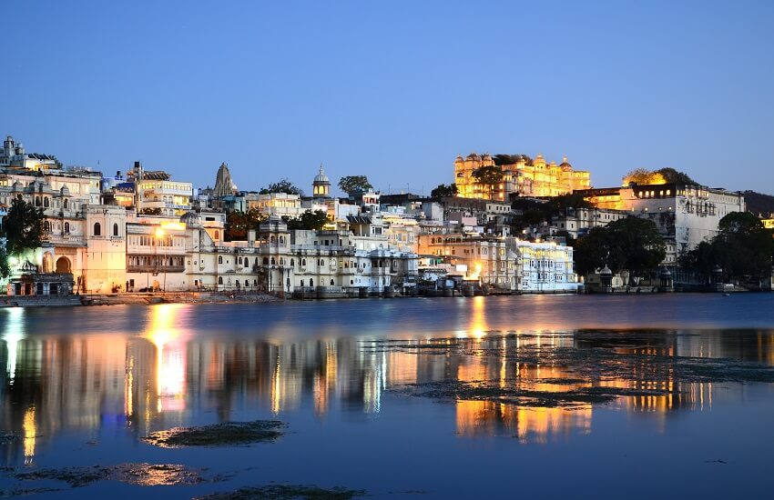 Udaipur Palast Old Town