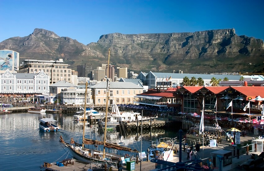 Quayside Cape Town