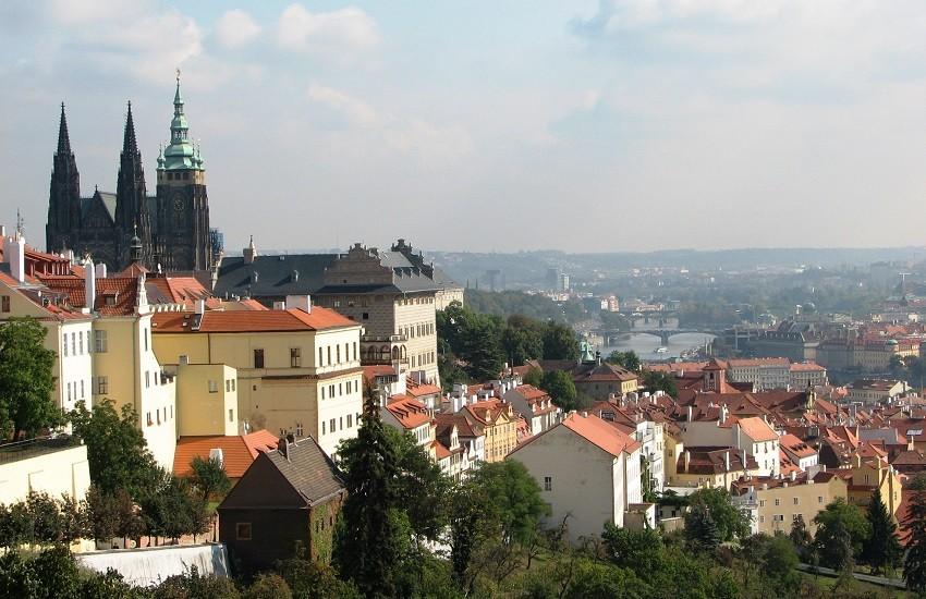 Vienna City And Danube