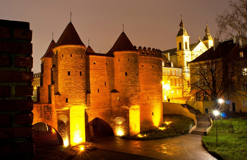 Warsaw Old Town Castle