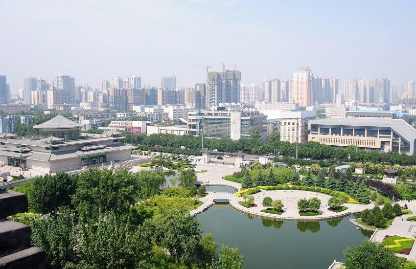 Xi'an Downtown