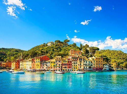 Portofino luxury village landmark