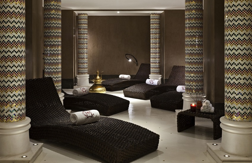Hotel Spa Loungers