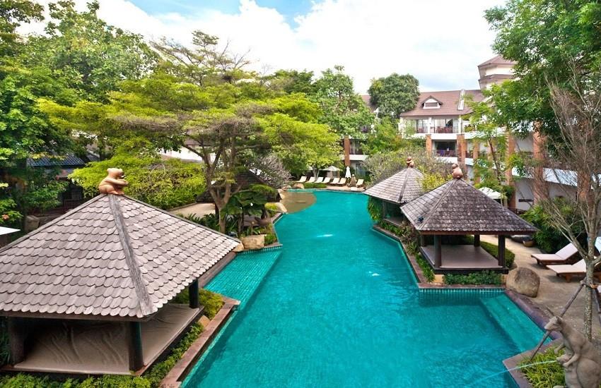 Pool Tropical Area