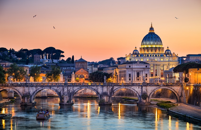 Basilica St Peter in Rome