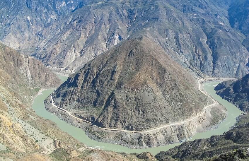 Omega Bend Yangtze River